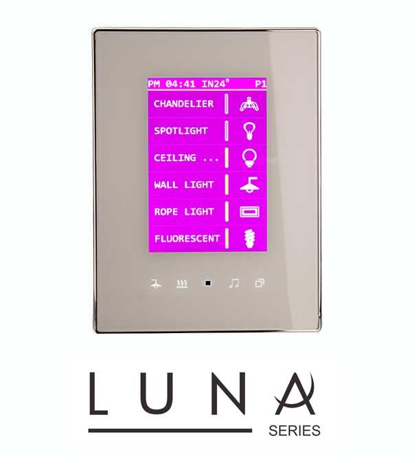 dokunmatik ekran, LUNA TFT Dokunmatik Ekran, TİS Akıllı Ev Sistemleri