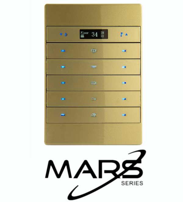 Akıllı Elektrik Anahtar, Mars 10 tuşlu Anahtar, TİS Akıllı Ev Sistemleri