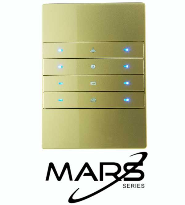elektrik anahtarı, Mars 8 tuşlu Anahtar, TİS Akıllı Ev Sistemleri