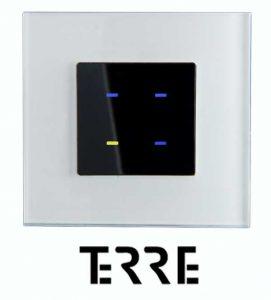 dokunmatik anahtar, Terre 4 tuşlu, TİS Akıllı Ev Sistemleri