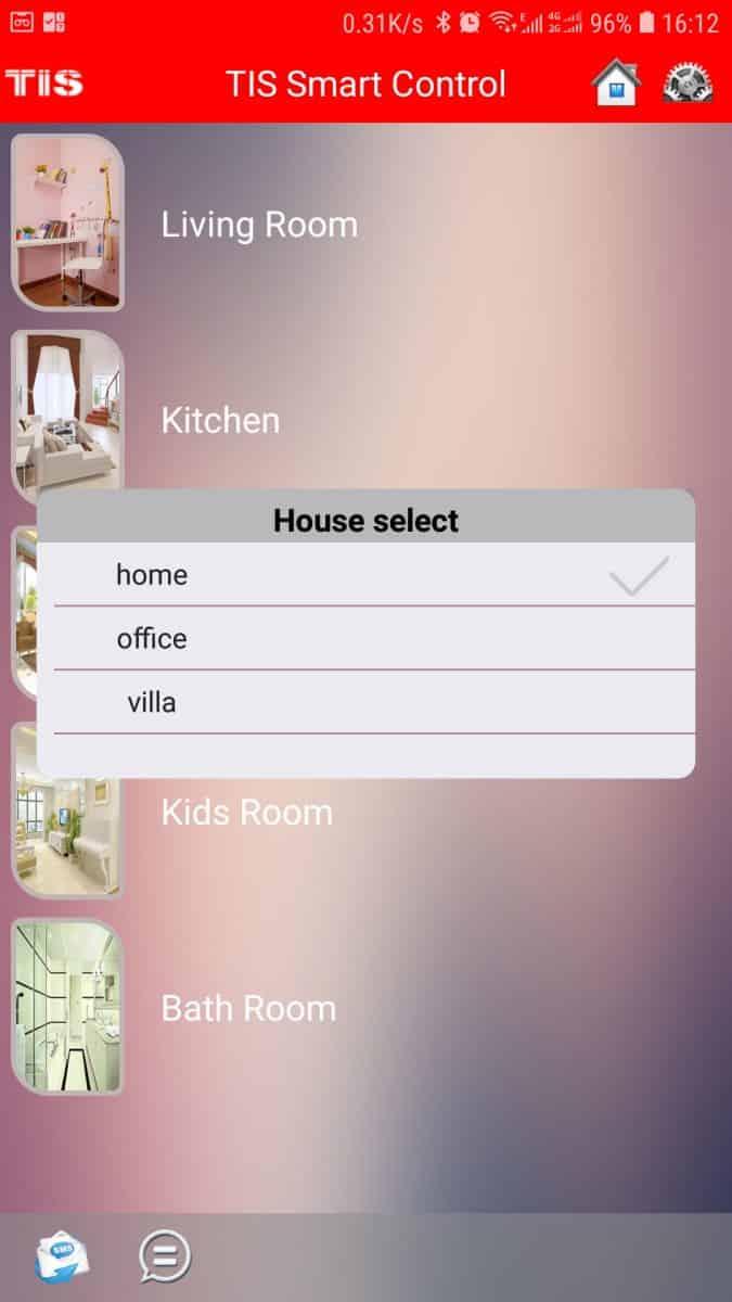 ev otomasyon sistemi, Destek, TİS Akıllı Ev Sistemleri