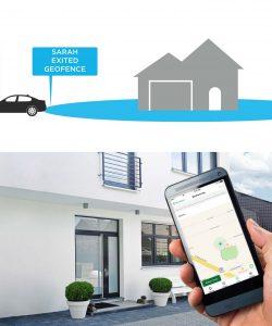 GeoFencing, GeoFencing, TİS Akıllı Ev Sistemleri