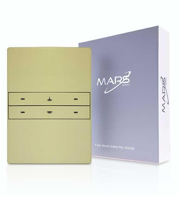 akıllı anahtar seti, Mars 4 tuşlu anahtar, TİS Akıllı Ev Sistemleri