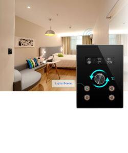 termostat düğmesi, termostat düğmesi IO 4G, TİS Akıllı Ev Sistemleri